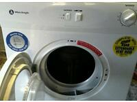 White knight tumble dryer in good working order. Can arrange delivery.