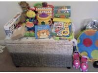 Huge Bundle of TOYS includes TooT TooT farm, Elc Thunder Mountain race set