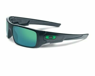 GENUINE Oakley Sunglasses CRANKSHAFT OO9239-02 Ink Black W/ Jade Iridium
