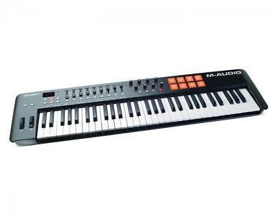 M-Audio Oxygen 61 Tasten 2014 MK4 USB MIDI Keyboard E-Piano Controller 8