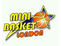 Basketball sessions for kids from 8 to 13 year's old