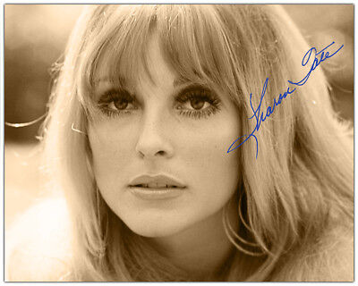 SHARON TATE 60's TRAGIC BEAUTY 8x10 AUTOGRAPHED Photograph RP