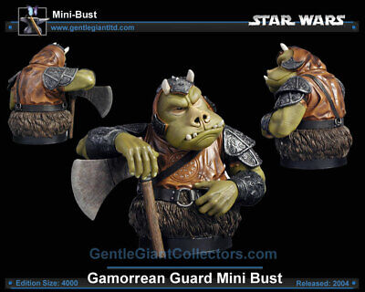 STAR WARS Gamorrean Guard Limited Edition Bust by Gentle Giant - PRICED TO SELL