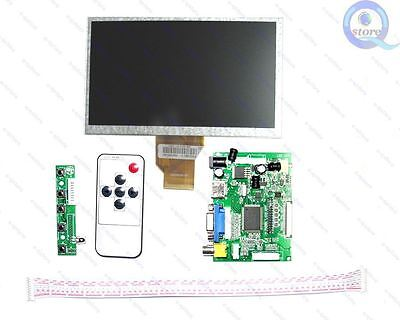 HDMI VGA 2AV Driver board 7inch AT070TN90 800*480 lcd display for Raspberry Pi