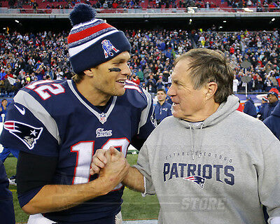 Tom Brady Bill Belichick New England Patriots 8X10 11X14 16X20 20X24 Photo 4947
