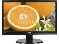 """18.5"""" AOC E950swdak LED Monitor - New in Box"""