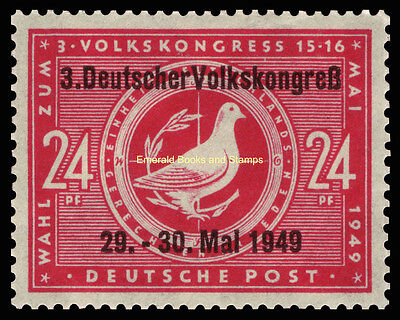 EBS Germany 1949 SBZ - 3rd People's Congress - Volkskongreß - 233 I MNH**