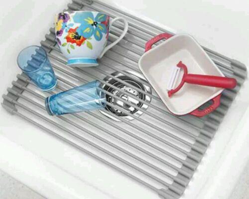 Over the sink Better Houseware 18″ Roll Up Sink Mat Drying mat Multiuse Home & Garden