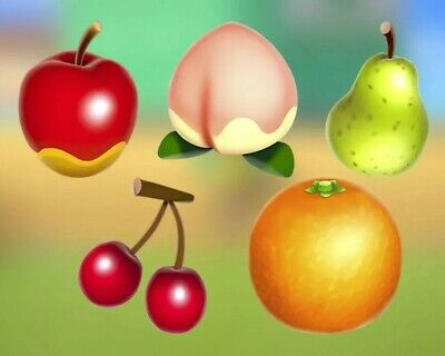 Animal Crossing New Horizons 20 of EACH FRUIT (INCLUDES COCONUTS)