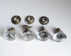 Charmant Antique Vintage Glass Door Knobs
