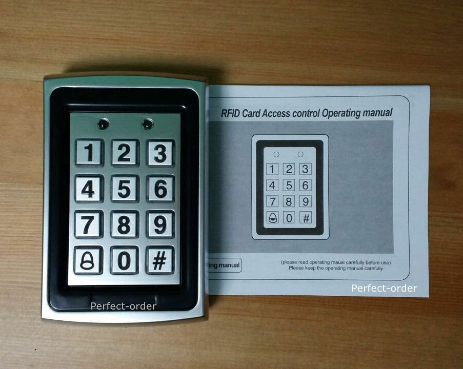 Metal 125KHz RFID Card and Password Door Access Control Keypad/Password Keypad