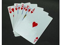 Mobile Poker Dealer and all equipment for hire