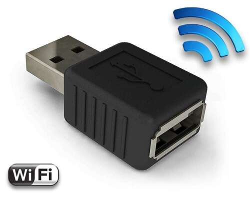 Tiny USB Hardware Keylogger with Wi-Fi - AirDrive Keylogger, High Quality, 16MB