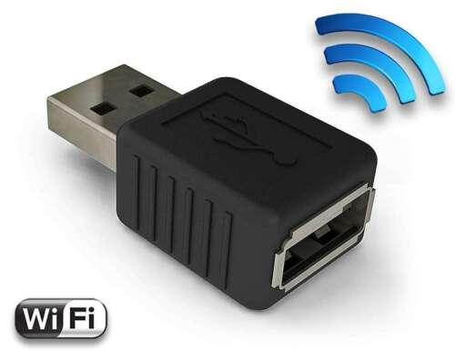 AirDrive Keylogger Pro - Premium USB Hardware Keylogger, WiFi, Email, Time-stamp