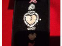 New Sekonda Crystal Ladies Dress Gemstone Watch, New in Gift Box, Was £80, Sell £25