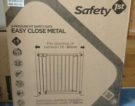 Safety 1st Pressure Fit Metal Safety Gate