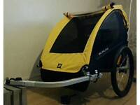 """Burley """"Bee"""" 2 seater cycle trailer"""