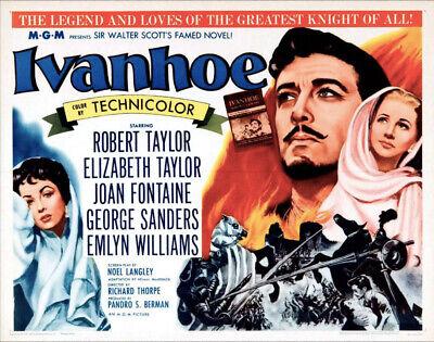 ivanhoe 1952 historical adventure robert taylor dvd