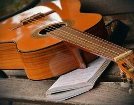 Guitar teacher specialising in song development, chord progressions and arrangement.