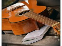 Guitar teacher specialising in song development, chord progressions and arrangement.