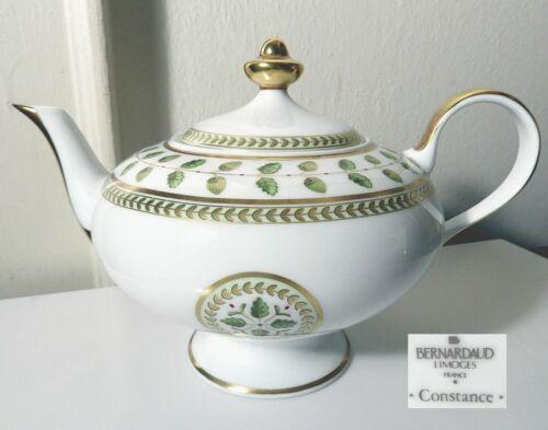 Bernardaud Limoges CONSTANCE Teapot, Mint!