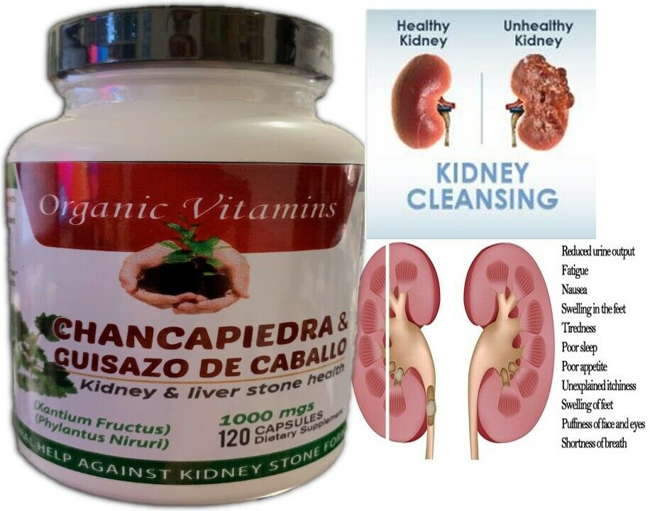 KIDNEY DETOX NATURAL SUPPLEMENT HEALTH CLEANSE KIDNEY AND LI