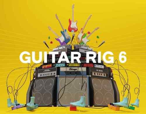 Guitar Rig 6 Pro 6.0.2 STANDALONE, VST, AAX x64 Win 2020