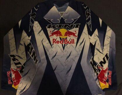 Red bull motocross shirt