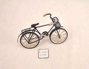 Bicycle / Bike - dollhouse 1/12 scale miniature metal G8140