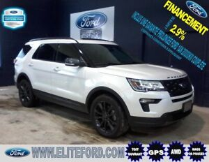FORD EXPLORER XLT 2018, AWD, GPS, TOIT PANORAMIQUE