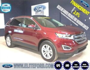 FORD EDGE SEL 2017, CUIR, TOIT, GPS, MAGS 18 POUCES