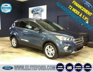 FORD ESCAPE SE 2018, AWD, CAMÉRA DE RECUL