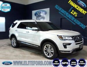 FORD EXPLORER LIMITED 2018, CUIR, TOIT, GPS,AWD