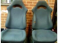 Subaru wrx sti turbo wagon full set of seats will split