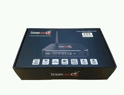 Streamcast xd6 android tv box