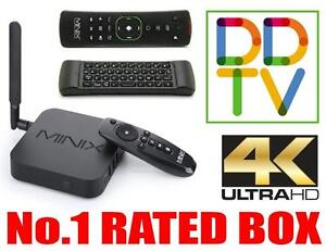 #1 RATED TV BOX 2016 MINIX NEO U1, MOVIES, TV SHOWS, NETFLIX, RETRO GAMING, 4K, TECH SUPPORT, DDTV APP, FREE SHIPPING!