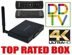 TOP RATED TV BOX 2016 ZOOMTAK T8V, MOVIES, TV SHOWS, NETFLIX, RETRO GAMING, 4K, TECH SUPPORT, DDTV APP, FREE SHIPPING!