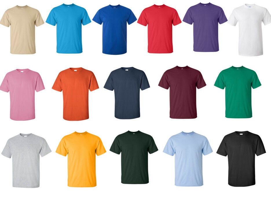 GILDAN Heavy Cotton Classic T-SHIRT Many Colors Wholesale BLANK Tee S-5XL New!