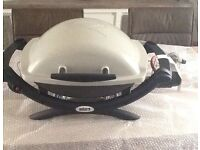 Brand New with Tags WEBER Q1000 Portable Gas BBQ / Grill ideal for Caravan / Motor Home /Garden