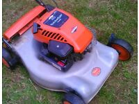 Petrol lawnmower . Briggs and Stratton quality engine mower. Stunning condition.