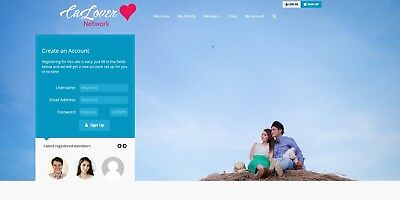 Online Social Communitydating Network Website - Free Installation Hosting