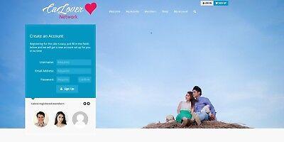 Online Social Communitydating Network Website - Free Installation Hosting