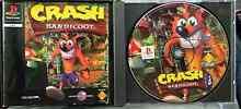 PS1 game CRASH BANDICOOT.  Playstation 1 & 2 Albion Park Rail Shellharbour Area Preview