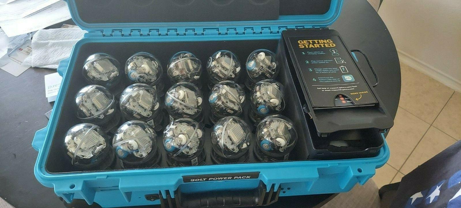sphero bolt power pack - 15 codingprogrammable robots + char