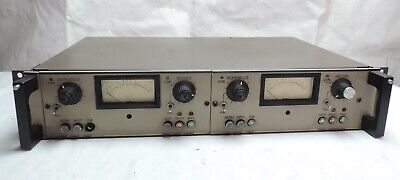 Vtg MCI JH110 Preamp Rack Unit Reel to Reel Tape Machines Recorder JH-110