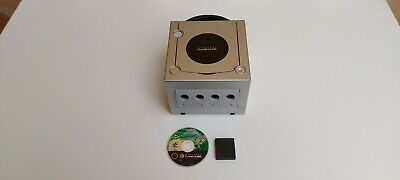 Nintendo GameCube Console Retrò Argento con Memory Card e Gioco International S,