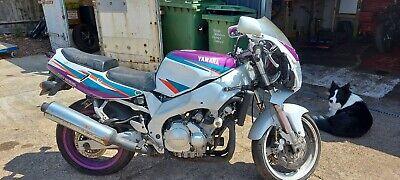 1995 Yamaha FZR600 Cocktail -Spares, Repair / Restoration Classic Bike Barn Find