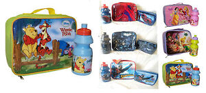 LUNCH PACK SET BAG KIDS BOYS GIRLS Drink Bottle & Sandwich box Picnic