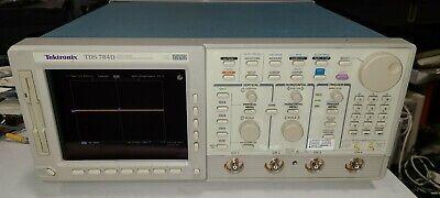 Tektronix Tds784d 1 Ghz 4 Gss 4 Channel Oscilloscope 13 1f 2f 1m