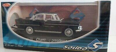 SOLIDO 1/43 FRANCE 4570 CHAMBORD PRESIDENCE 1958 NEUF EN BOITE